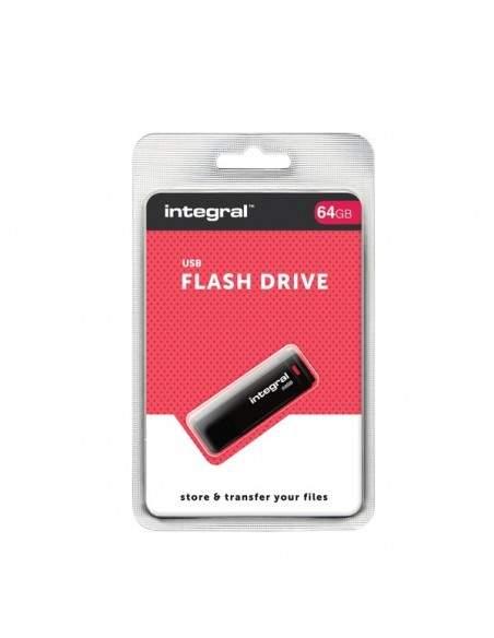 USB flash drive 2.0 Integral - 64 GB - INFD64GBBLK