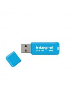 Flash Drive NEON 3.0 Integral - 8 GB - blu - INFD8GBNEONB3.0