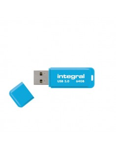 Flash Drive NEON 3.0 Integral - 64 GB - blu - INFD64GBNEONB3.0