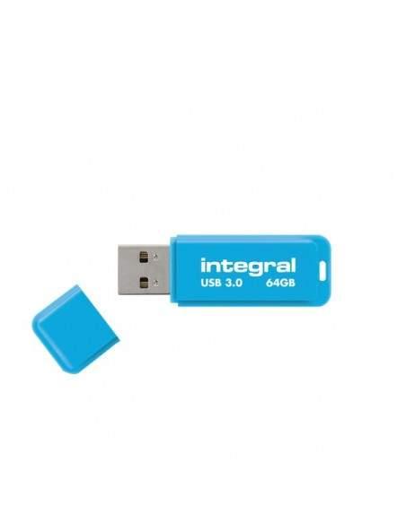 Flash Drive NEON 3.0 Integral - 64 GB - blu - INFD64GBNEONB3.0