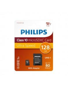 Flash Memory Card Micro Philips - 128GB - Micro SDXC Class 10 - PHMSDMA128GBXCCL10