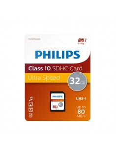 Flash Memory Card Philips - 32GB - SDHC Class 10 - PHSD32GBHCCL10