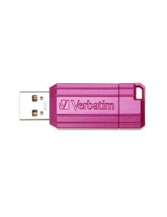 Chiavetta USB PINSTRIPE 2.0 Verbatim - 32 GB - rosa - 49056