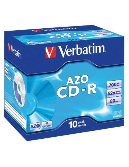 CD Verbatim Verbatim - CD-R - Jewel case - 52x - 43327 (conf.10)
