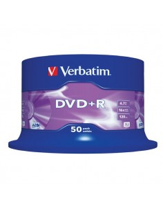 DVD+R Verbatim 4,7 Gb - 16x - Spindle - 43550 (conf.50)