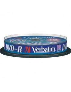 DVD-R Verbatim 4,7 Gb - 16x - Spindle - 43523 (conf.10)