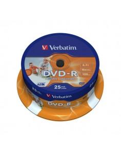 DVD-R Verbatim 4,7 Gb - 16x - Printable - Spindle - 43538 (conf.25)