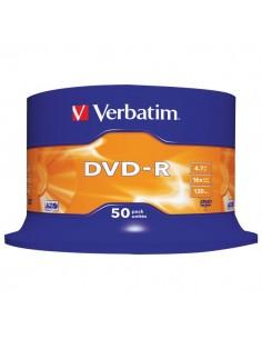 DVD-R Verbatim 4,7 Gb - 16x - Spindle - 43548 (conf.50)