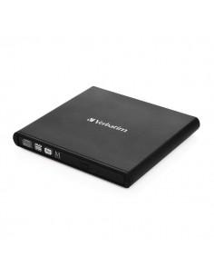 Masterizzatore CD/DVD esterno USB 2.0 Slimline Verbatim - 98938