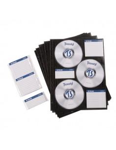 Busta archiviabile per CD/DVD Tecnostyl - 6 CD - CD6BS10 (conf.10)