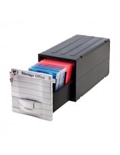Schedari modulari MediaSolutions 160 Exponent World - CD ROM - 35x17x17,3 cm - 28 CD/DVD - 34601