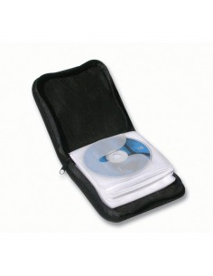 Custodia per CD/DVD Exponent World - 24 CD/DVD - nero - 56010