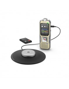 Registratore vocale digitale DVT8010 Philips - grigio/nero - DVT8010