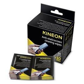 Salviette antistatiche per pulizia schermi Kineon - non infiammabile - AMCA60KIN (conf.60)