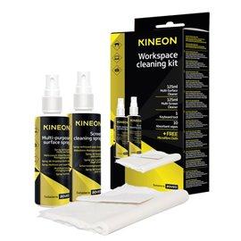Kit di pulizia per la postazione di lavoro Kineon - panno in microfibra - ACCK000KIN