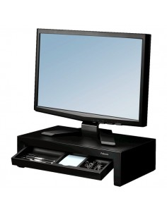 Supporto monitor Designer Suites Fellowes - nero - 8038101