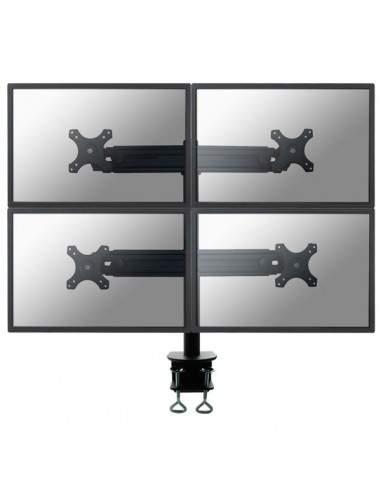 """Supporto da scrivania 4 monitor LCD/LED/TFT fino a 30"""" Newstar - FPMA-D700D4"""
