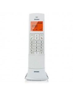 Telefono Cordless Lemure Brondi - bianco - 10273921