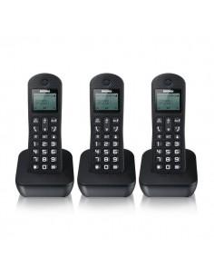 Telefono Cordless GALA TRIO Brondi - 3 Telefoni - nero - 10274090
