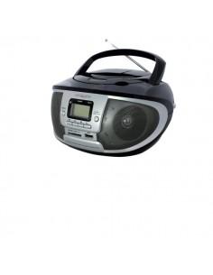 Radio-Lettore Cd-Mp3 Boombox Irradio - Rosso/Nero - 213310015