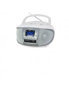 Radio-Lettore Cd-Mp3 Boombox Irradio - Bianco/Silver - 213310016