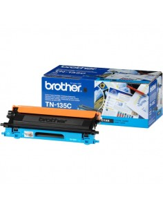 Originale Brother laser toner A.R. 135 - ciano - TN-135C