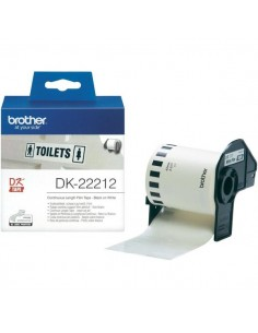 Originale Brother ttr nastro - nero-bianco - DK22212