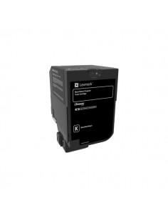 Originale Lexmark laser toner CS720, CS725, CX725 - nero - 74C20K0