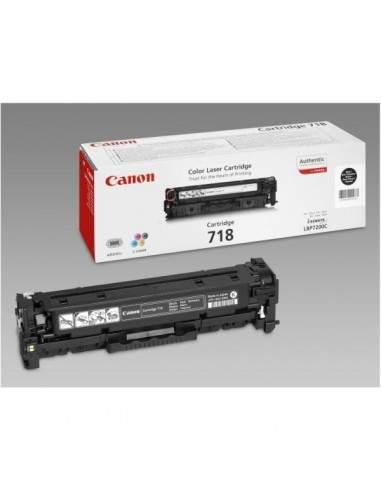 Originale Canon laser conf. 2 toner CRG 718 BK 2P - nero - 2662B005
