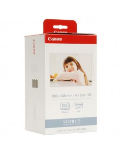 Originale Canon ttr kit ttr + carta foto KP-108IN - colore - 3115B001