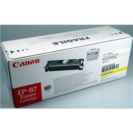 Originale Canon laser toner EP-87 Y - giallo - 7430A003