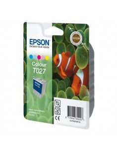 Originale Epson inkjet cartuccia rs T027 - 5 colori - C13T02740110
