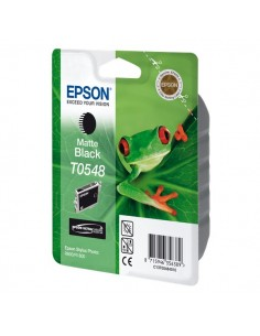 Originale Epson inkjet cartuccia hi-gloss rs STYLUS PHOTO T0548 - nero opaco - C13T05484010