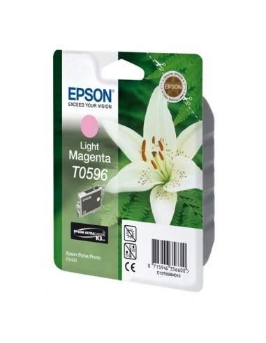 Originale Epson inkjet cartuccia ink pigmentato rs K8 T0596 - 13 ml - magenta chiaro - C13T05964010