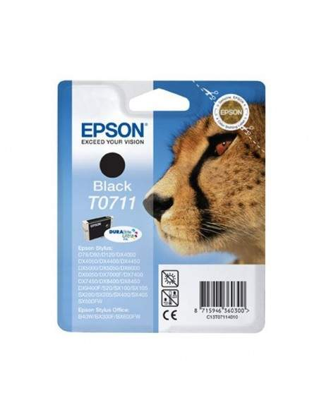 Originale Epson inkjet cartuccia ink pigmentato ghepardo Durabrite Ultra T0711 - nero - C13T07114012