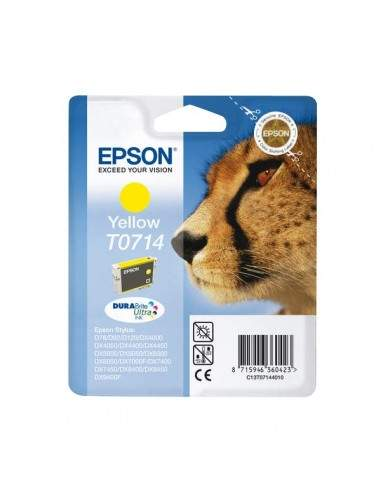 Originale Epson inkjet cartuccia ink pigmentato ghepardo Durabrite Ultra T0714 - giallo - C13T07144012