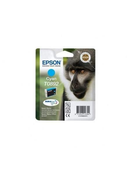 Originale Epson inkjet cartuccia ink pigmentato scimmia Durab. U. T0892/blister RS - ciano - C13T08924011