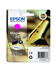 Originale Epson inkjet cartuccia ink pigmentato penna e cruc.Durabrite Ultra 16 - magenta - C13T16234012