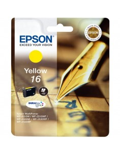 Originale Epson inkjet cartuccia ink pigmentato penna e cruc.Durabrite Ultra 16 - giallo - C13T16244012