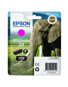 Originale Epson inkjet cartuccia elefante Claria Photo HD 24 - 4,6 ml - magenta - C13T24234012