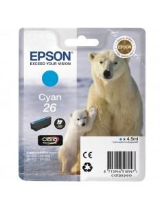 Originale Epson inkjet cartuccia orso polare Claria Premium 26 - 4.5 ml - ciano - C13T26124012