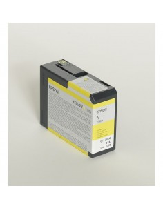 Originale Epson inkjet cartuccia ink pigmentato ULTRACHROME K3 T5804 - giallo - C13T580400