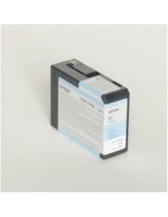 Originale Epson inkjet cartuccia ink pigmentato ULTRACHROME K3 T5805 - ciano chiaro - C13T580500