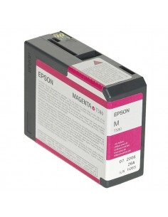Originale Epson inkjet cartuccia ink pigmentato ULTRACHROME K3 T580A - 80 ml - magenta - C13T580A00