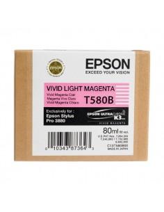 Originale Epson inkjet cartuccia ink pigmentato K3 T580B - 80 ml - magenta chiaro vivido - C13T580B00