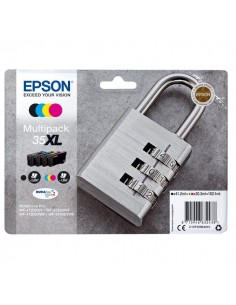 Originale Epson inkjet multipack cart. A.R. lucchetto Durab. U. 35XL - 102,1 ml - n+c+m+g - C13T35964010