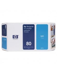 Originale HP inkjet cartuccia 80 - 175 ml - ciano - C4872A