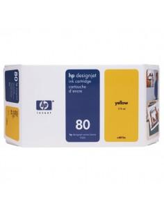 Originale HP inkjet cartuccia 80 - 175 ml - giallo - C4873A
