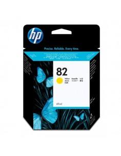 Originale HP inkjet cartuccia 82 - 69 ml - giallo - C4913A