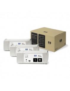 Originale HP inkjet conf. 3 cartucce dye 83 - 680 ml - nero - C5072A
